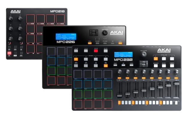 Akai stellt neue MPD2-Reihe vor