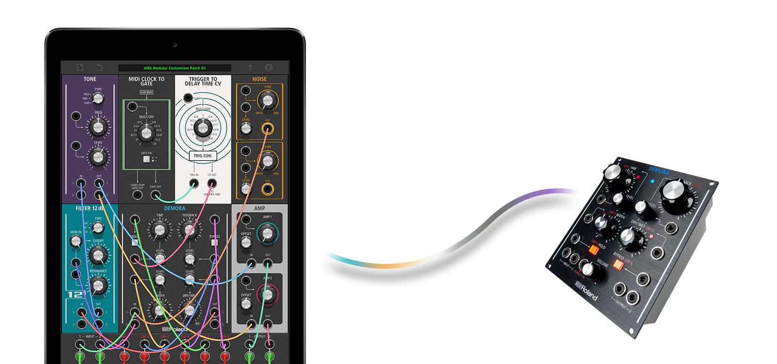 Roland veröffentlicht AIRA Modular Customizer App