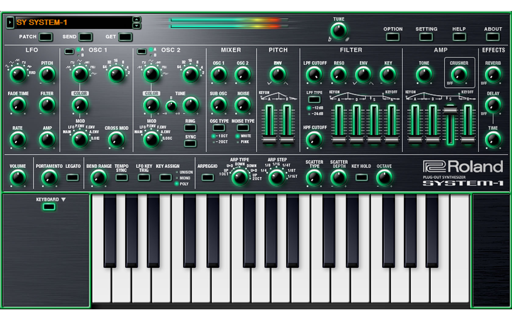 Roland bringt den SYSTEM-1 als Software Synthesizer
