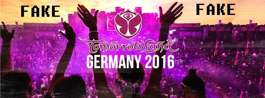 Tomorrowland Germany ist ein Fake – Sorry! ID&T geht gegen die 'Macher' vor