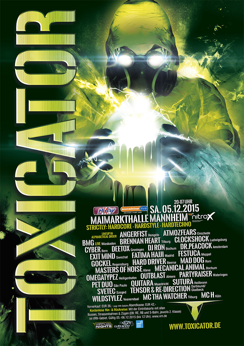 Toxicator 2015 – hier ist das Line-up