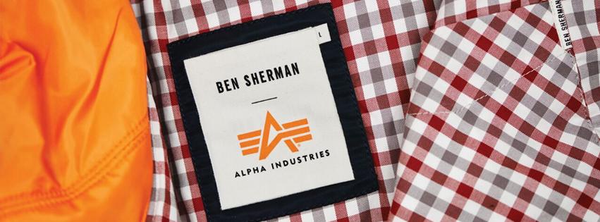 Ben Sherman und Alpha Industries legen die MA-1 Fliegerjacke neu auf