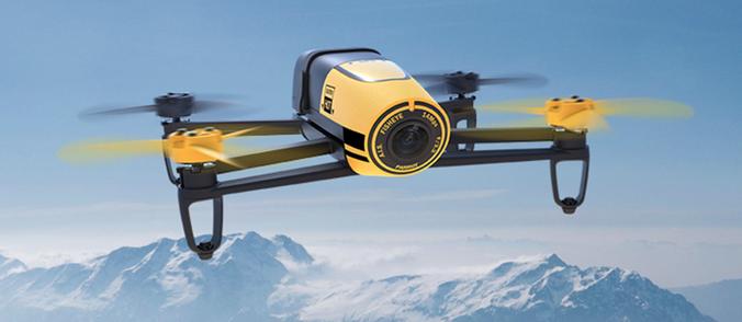 Parrot Bebop Drone – Himmelsstürmer und Action-Cam