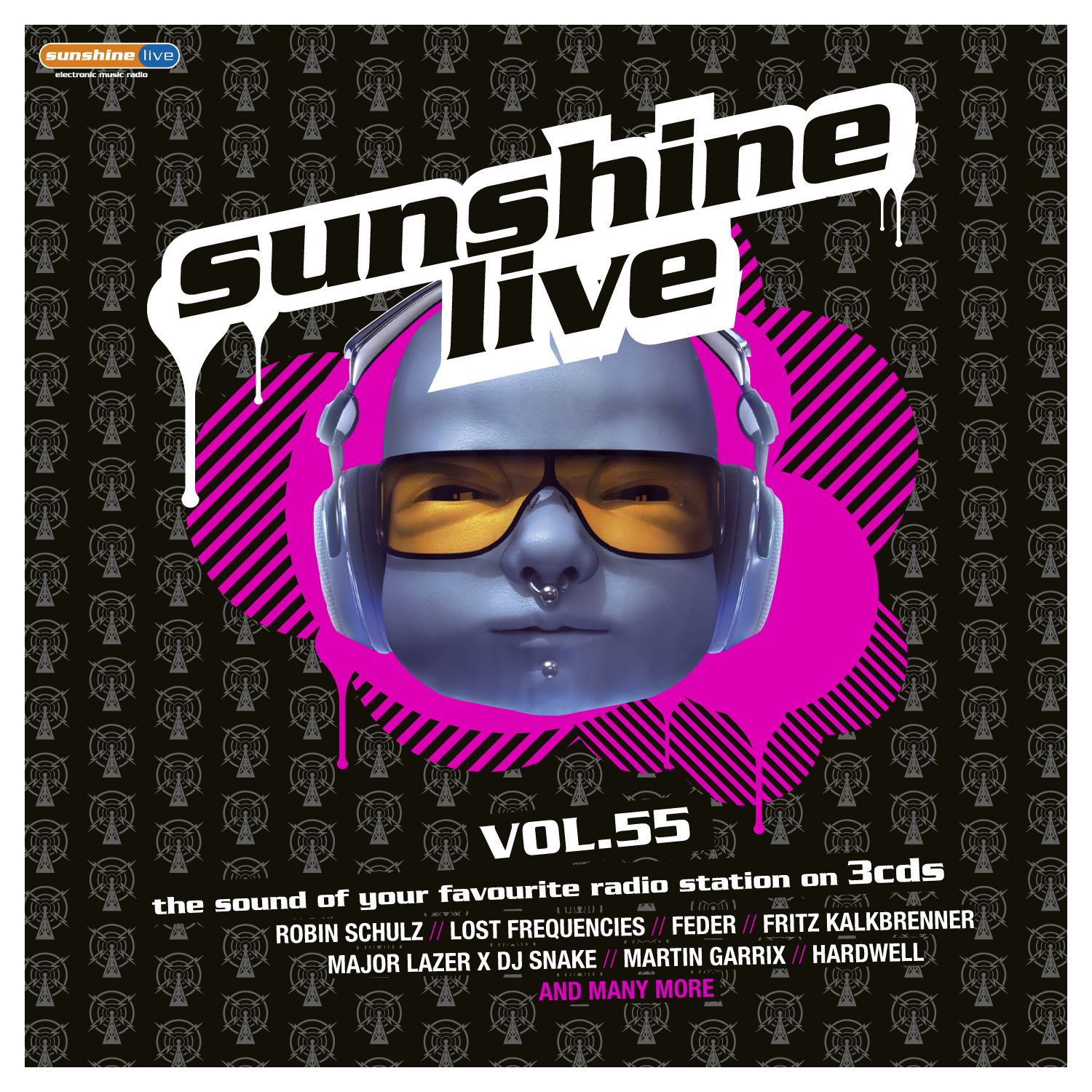 """Sunshine Live Vol. 55"" steht in den Startlöchern"
