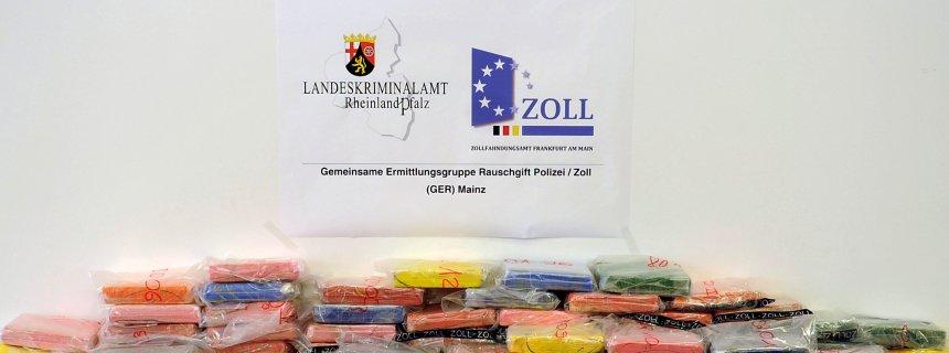 300 Kilogramm Kokain in der Pfalz entdeckt