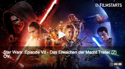 """Star Wars """"Das Erwachen der Macht"""" – neuer Trailer online"""