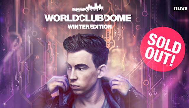 WORLD CLUB DOME Winter Edition mit Hardwell – ausverkauft, wir verlosen Tickets