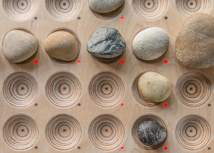 Jamky – ein Drumcomputer aus Holz und Stein