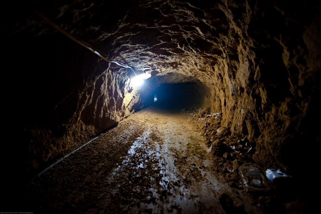 Das ist mal ein Drogen-Underground-Tunnel!
