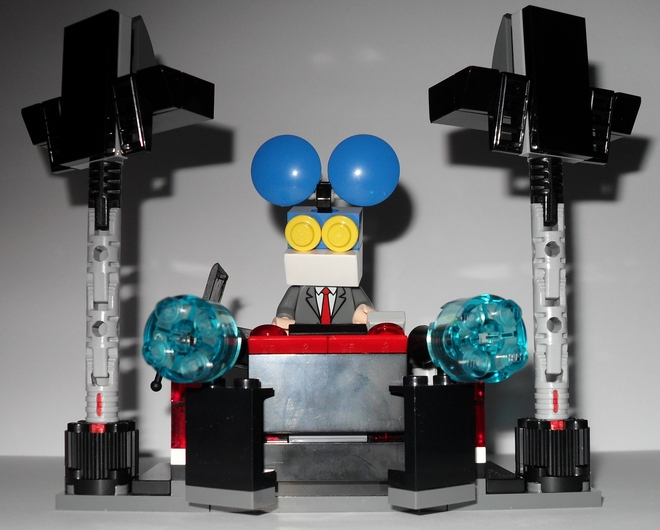Neues aus LEGO-Land: Deadmau5, Technics SL-1200MK2 & Paaaarty