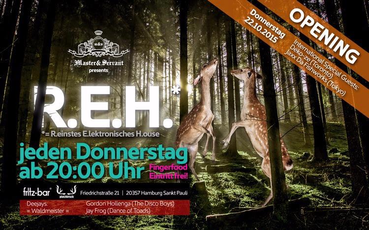 Neue Party-Reihe in Hamburg: W.A.L.D. – wir alle lieben Donnerstag