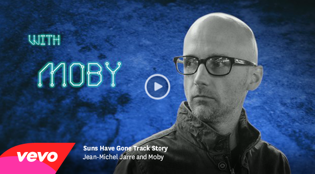 "EXKLUSIV: Trackstory ""Suns Have Gone"" mit Jean-Michel Jarre & Moby"