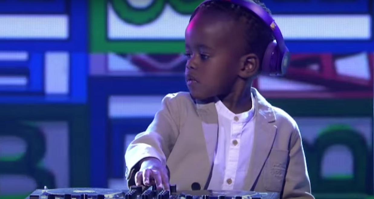 """Das diesjährige """"Supertalent"""" aus Südafrika: DJ Arch Jnr, drei Jahre alt …"""