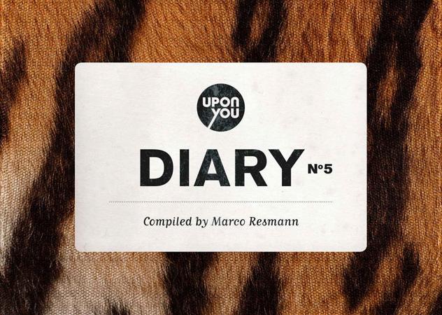 """Marco Resmann schlägt ein neues Kapitel auf: """"Upon You Diary No. 5"""""""
