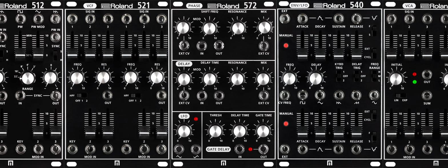 Roland präsentiert die SYSTEM-500 Eurorack Synths