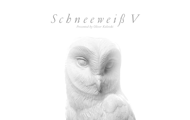 """Oliver Koletzki präsentiert """"Schneeweiß V"""""""