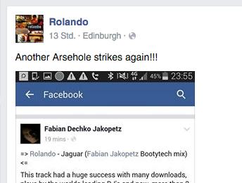"""Rolandos harsche Reaktion auf einen weiteren """"Jaguar""""-Remix"""