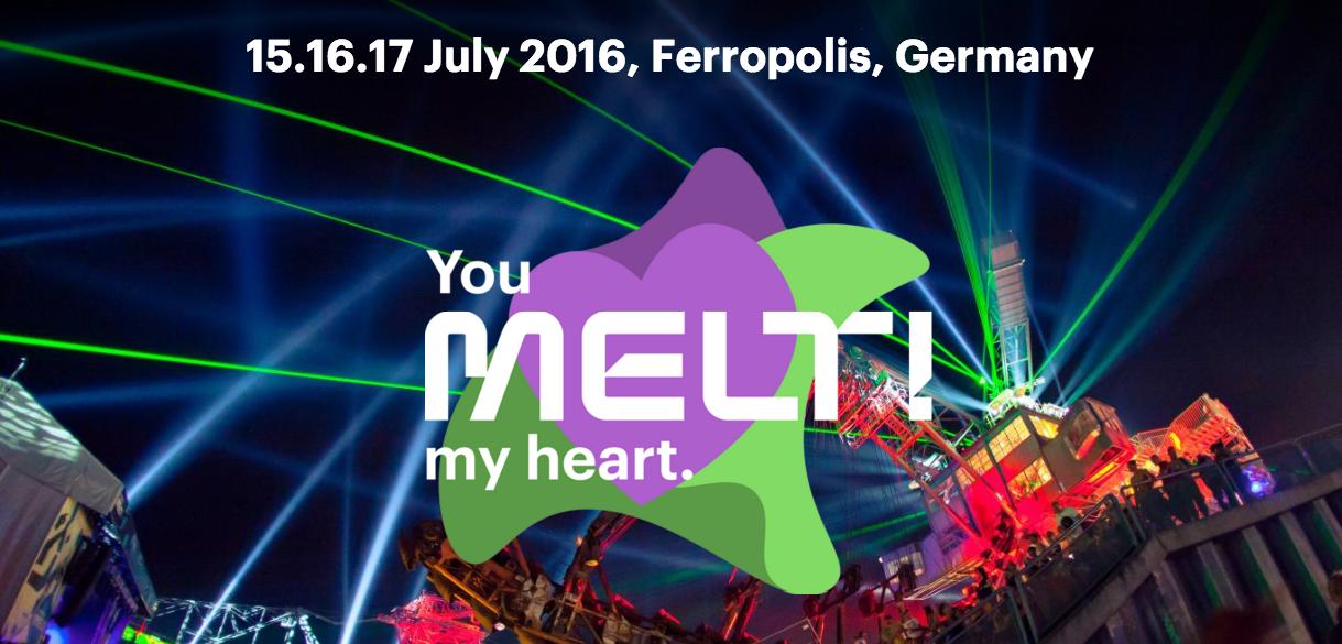 Melt! Festival verkündet die ersten Namen