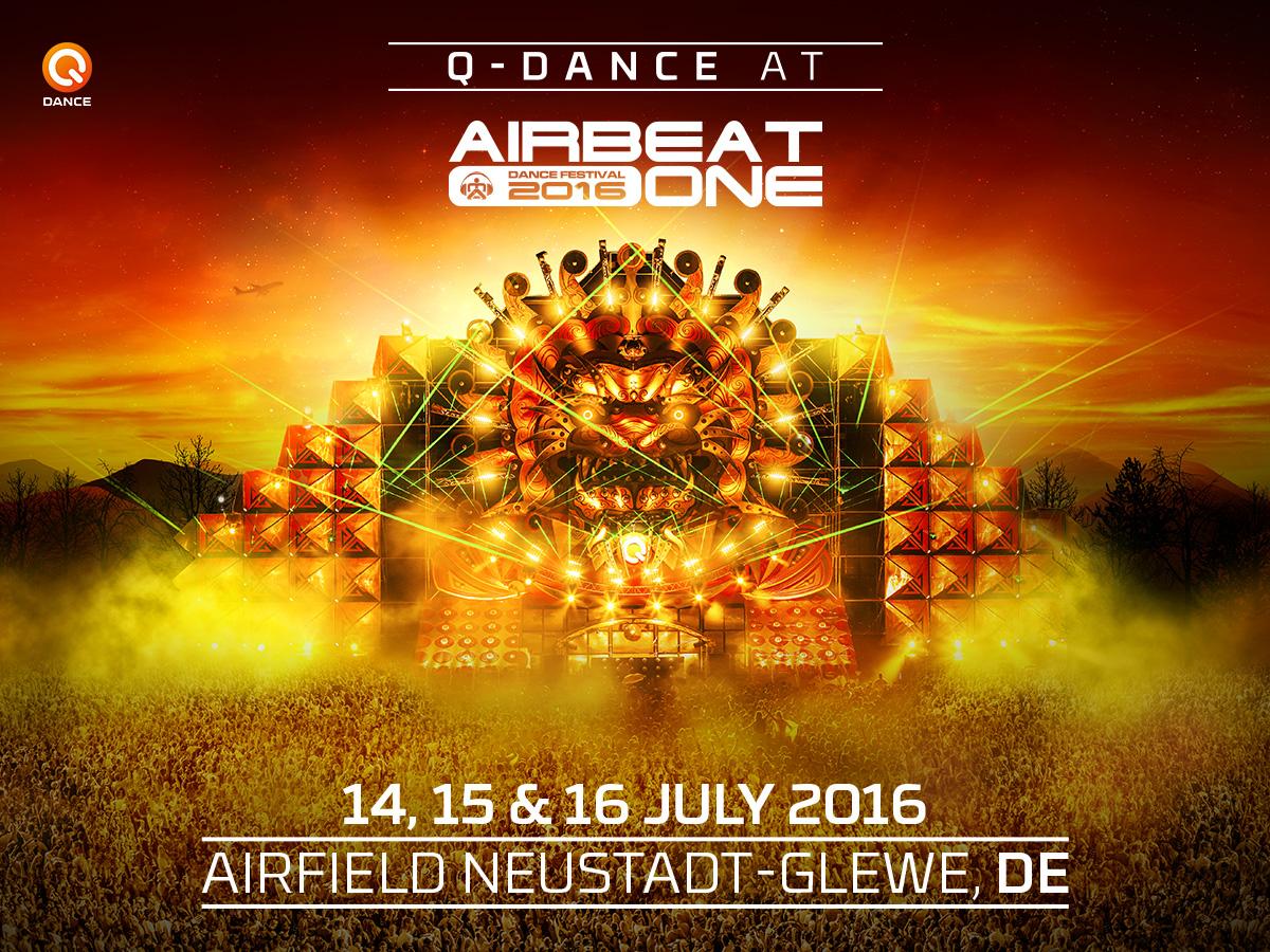 Q-Dance mit eigener Bühne auf dem Airbeat One