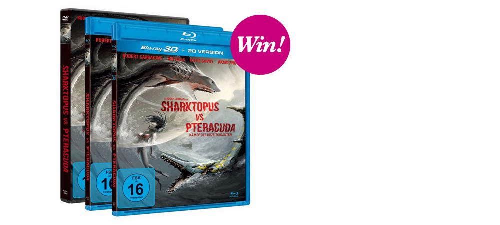 Sharktopus vs. Pteracuda – Kampf der Urzeitgiganten