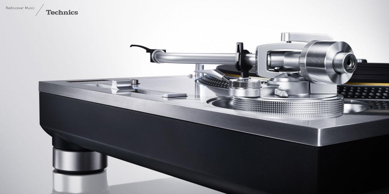 Technics kündigt neuen Plattenspieler an: SL-1200G