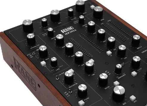 Rane präsentiert den MP2014 Zweikanal Rotary Mixer