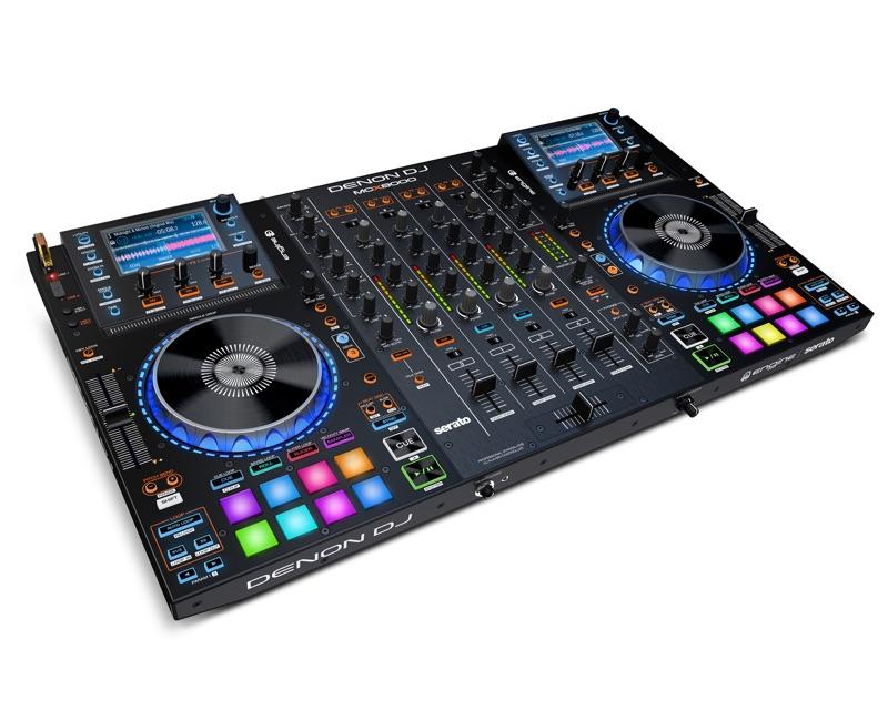 Denon DJ präsentiert neuen DJ-Controller MCX8000 mit eigener Engine Software