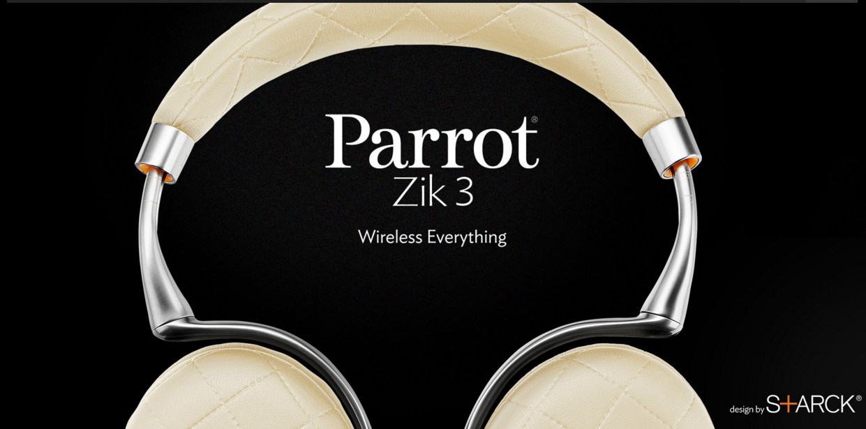 Parrot Zik 3 – Alles. Einfach. Kabellos.