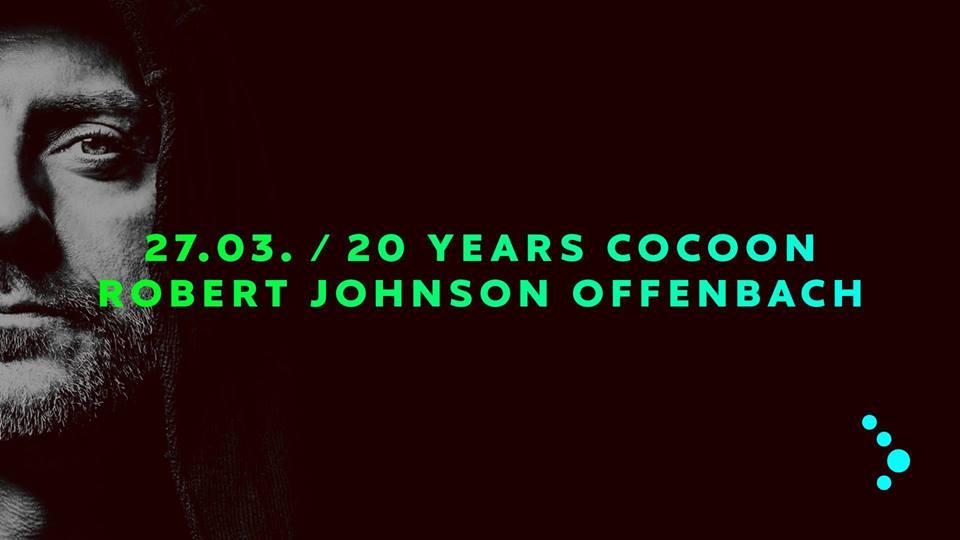 Cocoon feiert seinen 20. Geburtstag im Robert Johnson