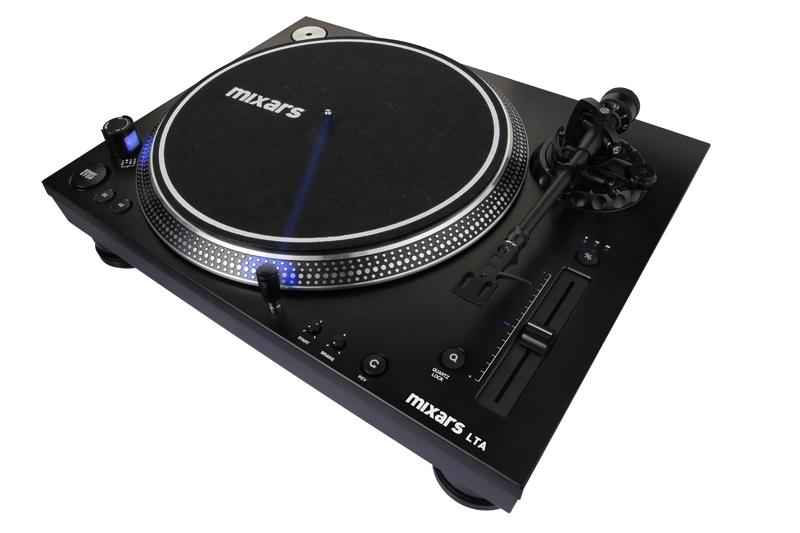 Mixars präsentiert den LTA-Turntable und limitiertes Timecode Vinyl
