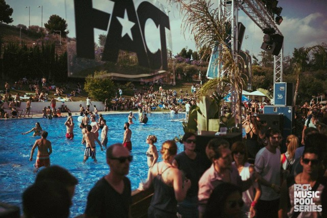 FACT Music Pool Series – Musik- & Badespaß in Barcelona