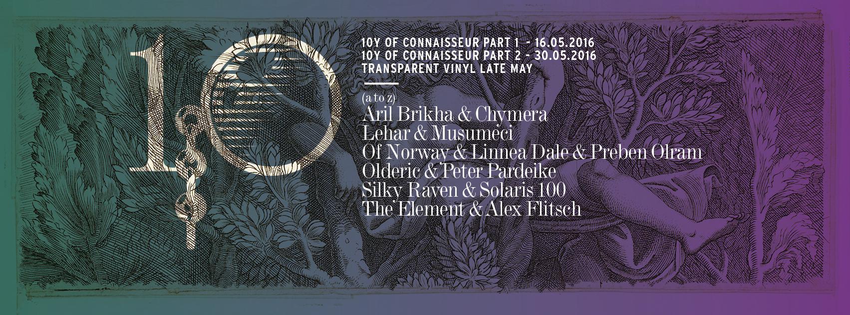 V.A. – 10y of Connaisseur Pt. 1 & 2 (Connaisseur)