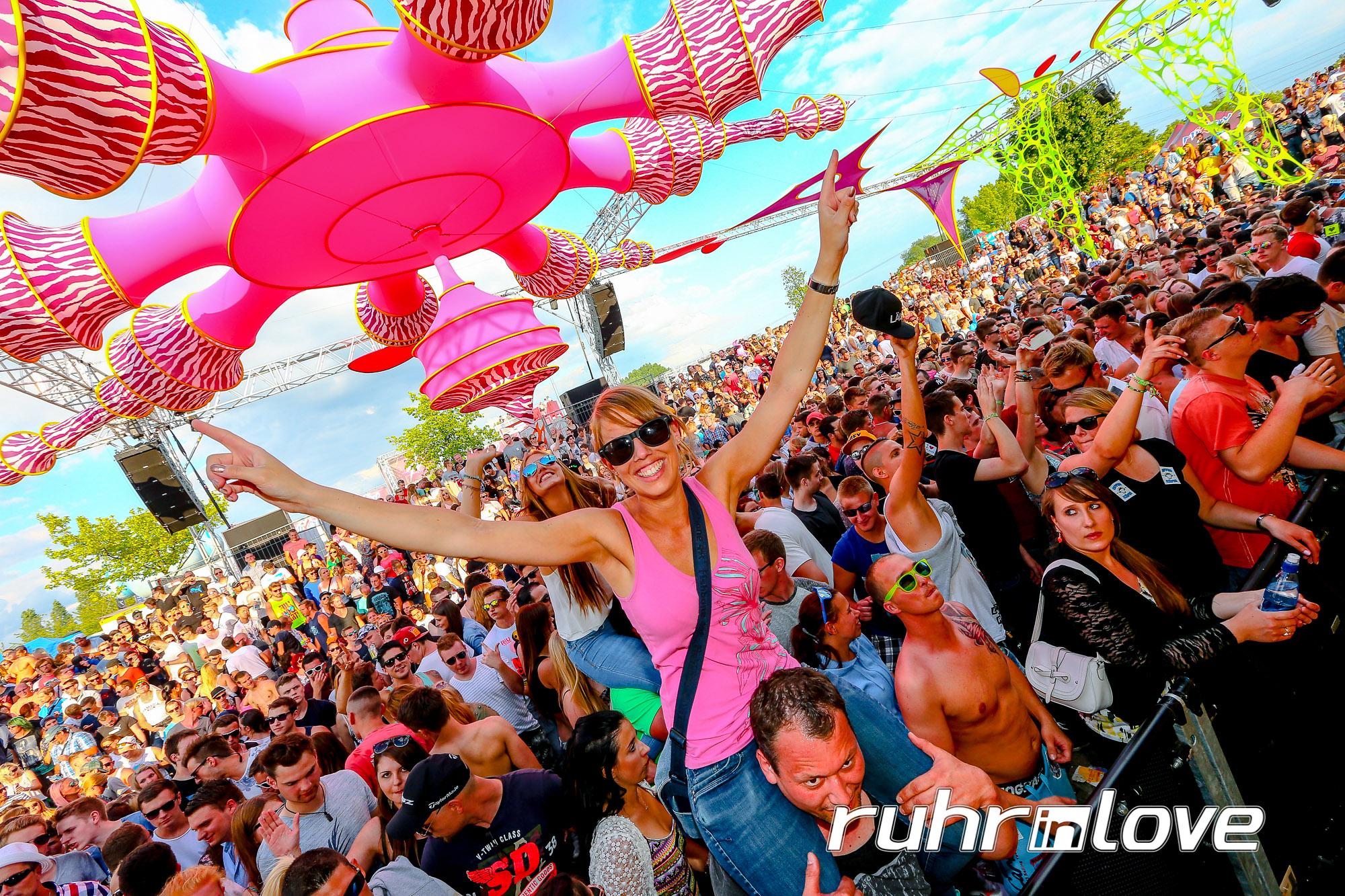 Ruhr in Love 2016 – das elektronische Sommermärchen