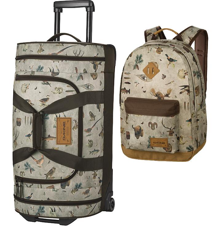 Dakine Travel Bags – Gut verpackt ist halb verreist