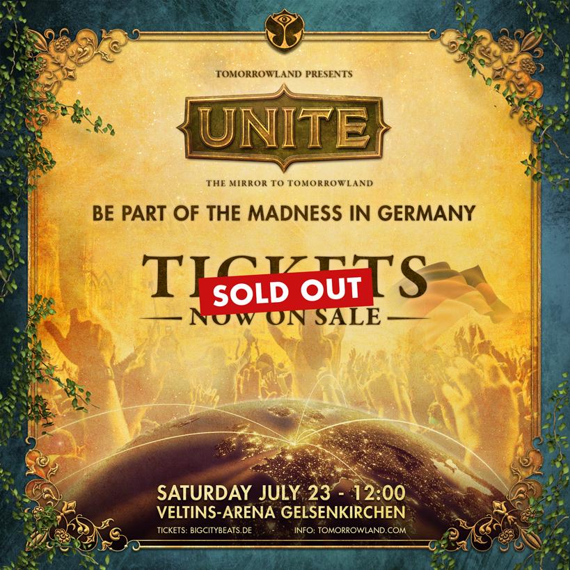 Tomorrowland Deutschland ist ausverkauft
