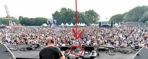 Sven Väth in einer Doppelrolle: Fußballfan und DJ