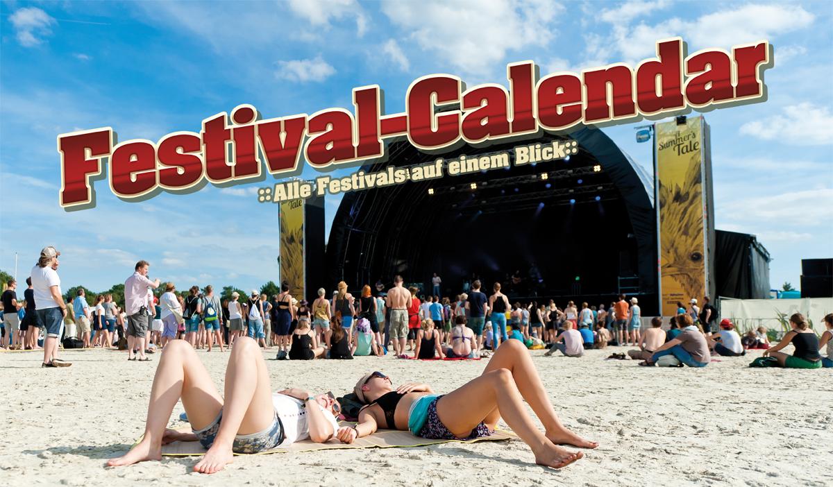 Festival Calendar – der nützliche Begleiter