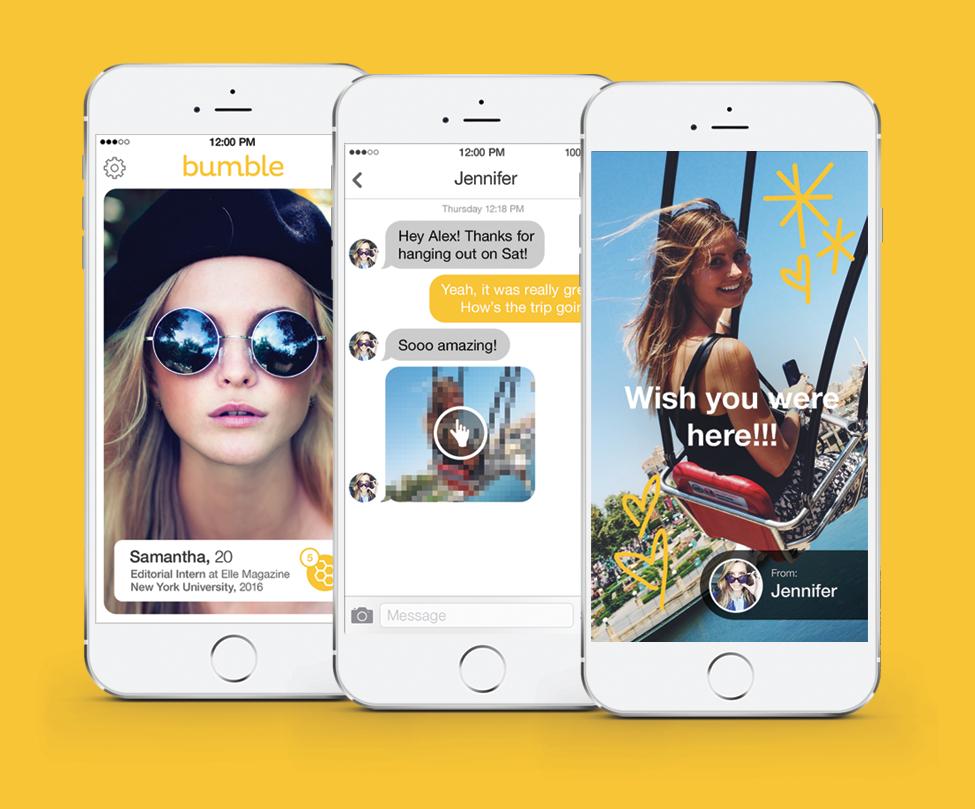 Bumble – wie Tinder, bloß mit Spotify