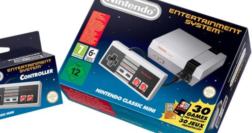 "Nintendo veröffentlicht Retrokonsole ""Nintendo Classic Mini"""