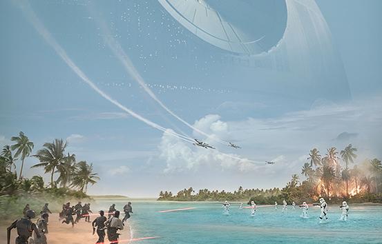 """""""Rogue One: A Star Wars Story"""": neuer Trailer & Filmplakat"""