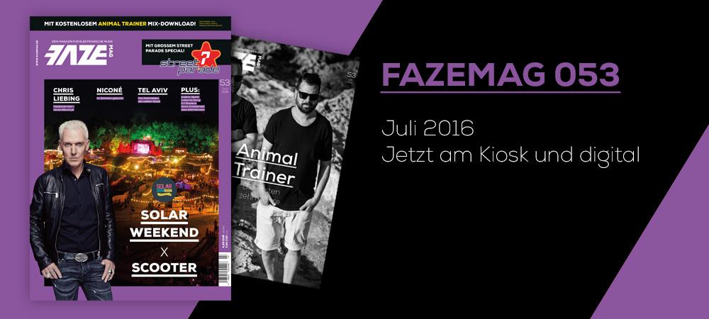 FAZEmag 053 – am Kiosk und als eMag für iOS und Android
