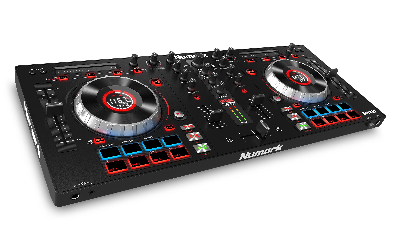 Numark veröffentlicht den DJ-Controller Mixtrack Platinum