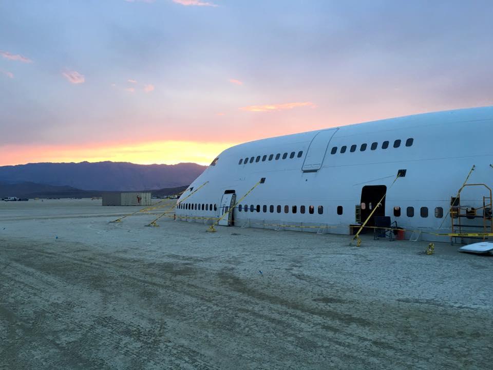 Gigantische Kunstinstallation beim Burning Man