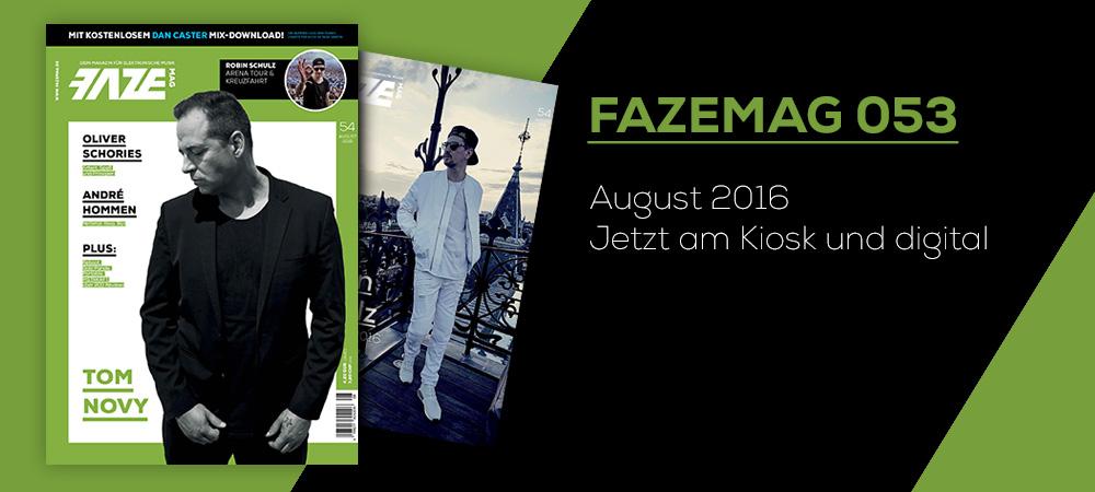 FAZEmag 054 – am Kiosk und als eMag für iOS und Android