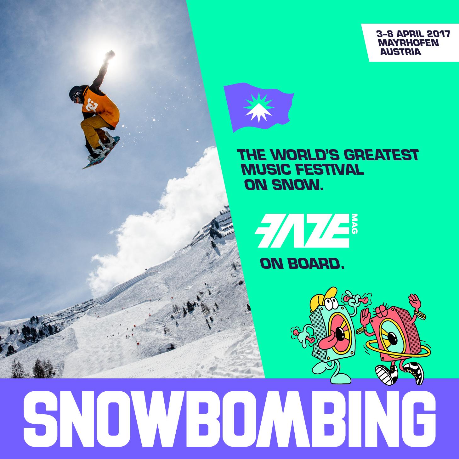 FAZEmag beim Snowbombing 2017 wieder mit an Bord!