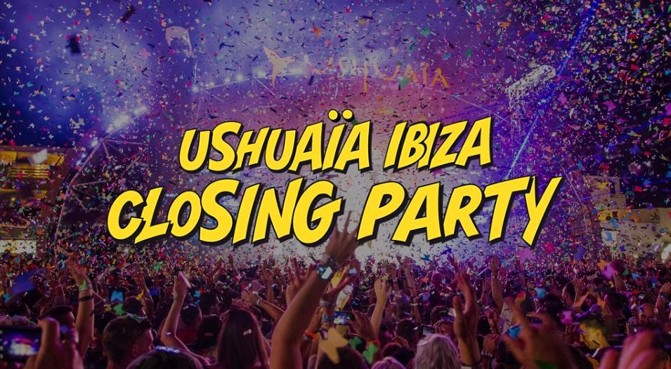 Ushuaïa gibt Line-up des Closings bekannt