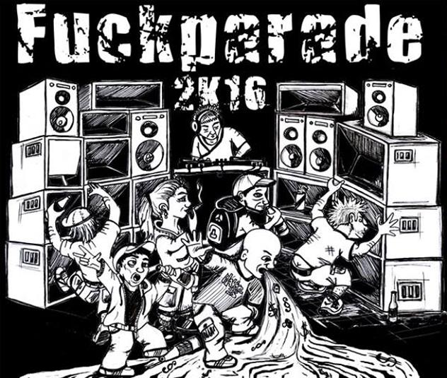 Fuckparade 2016 – die Parade feiert ihren 20. Geburtstag!