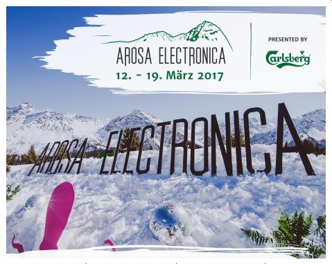Arosa Electronica 2017 – das Line-up steht!