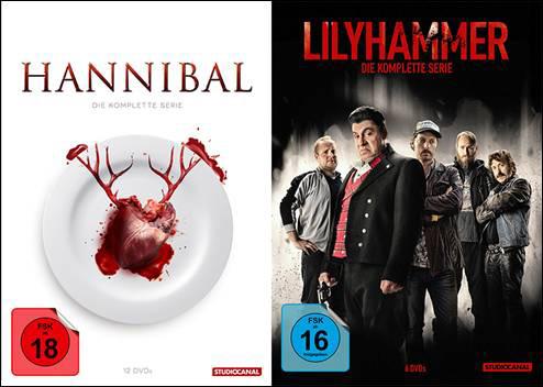 "Neu als Boxset: TV-Serien ""Lilyhammer"" & ""Hannibal"""