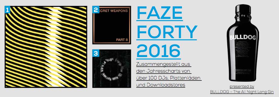 FAZE FORTY 2016 – Die besten Tracks 2016
